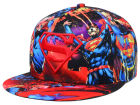 DC Comics Superman All Over Snapback Hat Adjustable Hats