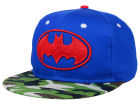 DC Comics Batman Camo Mashup Snapback Hat Adjustable Hats