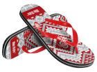 Ohio State Buckeyes Forever Collectibles Women's Aztec Flip Flops Apparel & Accessories