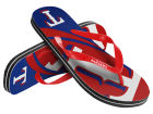 Texas Rangers Forever Collectibles Big Logo Flip Flop 2015 Apparel & Accessories