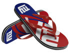 New York Giants Forever Collectibles Big Logo Flip Flop 2015 Apparel & Accessories