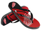 Detroit Red Wings Forever Collectibles Big Logo Flip Flop 2015 Apparel & Accessories
