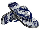 New York Yankees Forever Collectibles Women's Aztec Flip Flops Apparel & Accessories