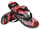 Chicago Blackhawks Forever Collectibles Women's Aztec Flip Flops Apparel & Accessories