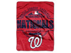 Washington Nationals The Northwest Company Micro Raschel 46inch x 60inch Structure Blanket Bed & Bath