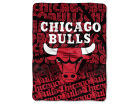 Chicago Bulls The Northwest Company Micro Raschel Throw 46x60