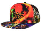 Zelda All Over Snapback Cap Hats