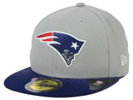 New Era NFL 2015 Draft Gray 59FIFTY Cap Fitted Hats
