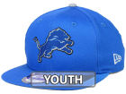 Detroit Lions New Era 2015 NFL Kids Draft 9FIFTY Original Fit Snapback Cap Adjustable Hats