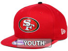 San Francisco 49ers New Era 2015 NFL Kids Draft 9FIFTY Original Fit Snapback Cap Adjustable Hats