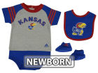 Kansas Jayhawks Outerstuff NCAA Newborn Little Kicker Set Outfits