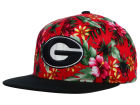 Georgia Bulldogs Top of the World NCAA Waverunner Snapback Hat Adjustable Hats