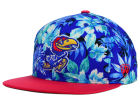 Kansas Jayhawks Top of the World NCAA Waverunner Snapback Hat Adjustable Hats
