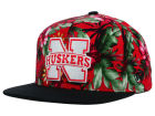 Nebraska Cornhuskers Top of the World NCAA Waverunner Snapback Hat Adjustable Hats