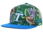 Tulane Green Wave Top of the World NCAA Waverunner Snapback Hat Adjustable Hats
