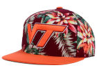 Virginia Tech Hokies Top of the World NCAA Waverunner Snapback Hat Adjustable Hats