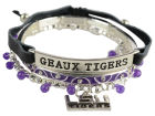LSU Tigers Trio Bracelet Set Apparel & Accessories