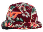 Virginia Tech Hokies Top of the World NCAA Waverunner Bucket Adjustable Hats