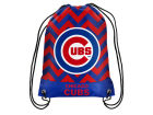 Chicago Cubs Forever Collectibles Women's Chevron Drawstring Backpack Luggage, Backpacks & Bags