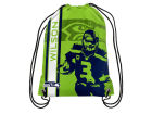 Seattle Seahawks Russel Wilson Forever Collectibles Player Elite Drawstring Backpack Luggage, Backpacks & Bags