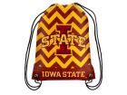 Iowa State Cyclones Forever Collectibles Women's Chevron Drawstring Backpack Luggage, Backpacks & Bags