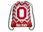 Ohio State Buckeyes Forever Collectibles Women's Chevron Drawstring Backpack Luggage, Backpacks & Bags