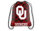 Oklahoma Sooners Forever Collectibles Women's Chevron Drawstring Backpack Luggage, Backpacks & Bags