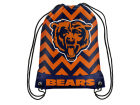 Chicago Bears Forever Collectibles Women's Chevron Drawstring Backpack Luggage, Backpacks & Bags