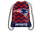 New England Patriots Forever Collectibles Women's Chevron Drawstring Backpack Luggage, Backpacks & Bags