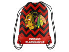 Chicago Blackhawks Forever Collectibles Women's Chevron Drawstring Backpack Luggage, Backpacks & Bags