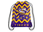 LSU Tigers Forever Collectibles Women's Chevron Drawstring Backpack Luggage, Backpacks & Bags