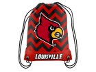 Louisville Cardinals Forever Collectibles Women's Chevron Drawstring Backpack Luggage, Backpacks & Bags
