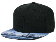 Concept One Cityscape Printed Visor Snapback Hat Adjustable Hats