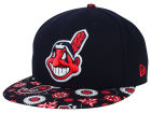 Cleveland Indians New Era MLB Paisley Time 59FIFTY Cap Fitted Hats