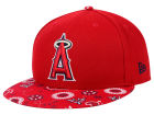 Los Angeles Angels of Anaheim New Era MLB Paisley Time 59FIFTY Cap Fitted Hats