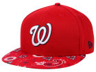 Washington Nationals New Era MLB Paisley Time 59FIFTY Cap Fitted Hats