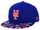 New York Mets New Era MLB Paisley Time 59FIFTY Cap Fitted Hats