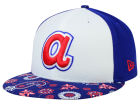 Atlanta Braves New Era MLB Paisley Time 59FIFTY Cap Fitted Hats