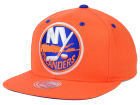 New York Islanders Mitchell and Ness NHL Current XL Logo Solid Snapback Cap Hats