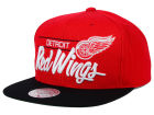 Detroit Red Wings Mitchell and Ness NHL City Bar Snapback Cap Adjustable Hats