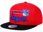 New York Rangers Mitchell and Ness NHL City Bar Snapback Cap Adjustable Hats
