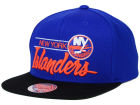 New York Islanders Mitchell and Ness NHL City Bar Snapback Cap Adjustable Hats