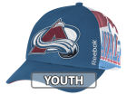 Colorado Avalanche Reebok NHL 2014-2015 Youth Playoff Hat Adjustable Hats