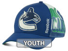 Vancouver Canucks Reebok NHL 2014-2015 Youth Playoff Hat Adjustable Hats