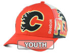 Calgary Flames Reebok NHL 2014-2015 Youth Playoff Hat Adjustable Hats
