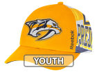 Nashville Predators Reebok NHL 2014-2015 Youth Playoff Hat Adjustable Hats
