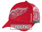 Detroit Red Wings Reebok NHL 2014-2015 Youth Playoff Hat Adjustable Hats