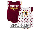 Washington Redskins Outerstuff NFL Newborn Polka Fan 2 Piece Creeper Set Infant Apparel