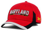 Maryland Terrapins Under Armour NCAA 2015 Sideline Renegade Cap Stretch Fitted Hats