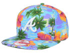 Atlanta Braves New Era MLB All Tropical 9FIFTY Snapback Cap Adjustable Hats
